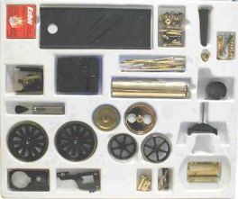 Wilesco D416 Steam Traction Engine Kit -Black & Brass. Free UK  delivery!